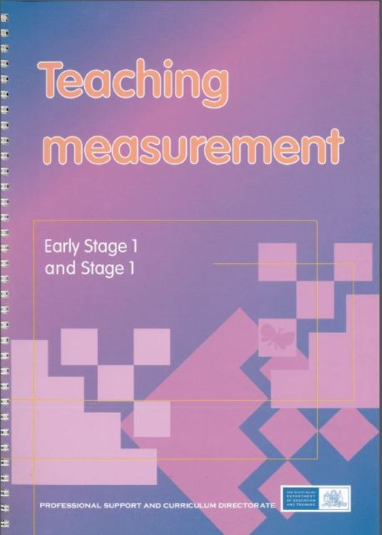 teaching measurement early stage 1 stage 1 mathematical